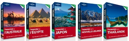 Lonely Planet, leader mondial de l'édition de guides de voyage lance une nouvelle collection L'essentiel.