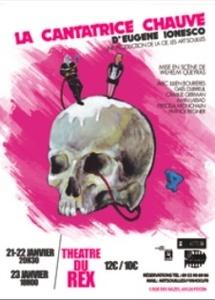théâtre : La Cantatrice Chauve d'Eugène Ionesco, au théâtre du Rex, Feyzin, les 21 au 23 janvier 2011