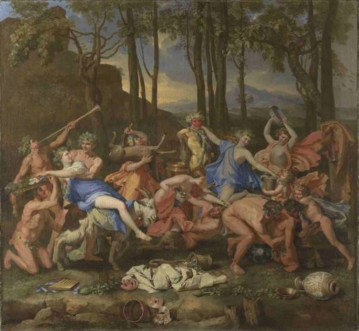 Nicolas Poussin, Le triomphe de Pan © Londres, The National Gallery. Exposé à Tours