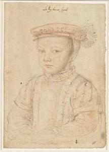 François Clouet, François dauphin de France, puis François II, roi de France et d'Ecosse © RMN/ René-Gabriel Ojéda
