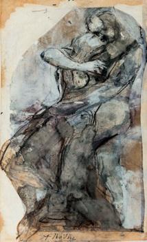 Couple enlacé, ou étude pour Le Baiser, 1880-1889 © agence photographique du musée Rodin, ph. J. Manoukian