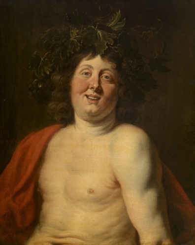 Jacob Jordaens, Bacchus, 17th Century, KMSKA © Lukas |Art in Flanders vzw