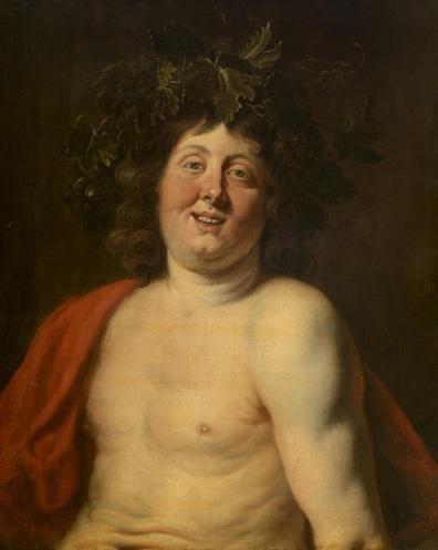 Jacob Jordaens, Bacchus, 17th Century, KMSKA © Lukas  Art in Flanders vzw
