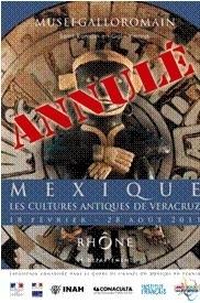 Exposition Mexique : Les cultures antiques de Véracruz au Musée gallo-romain de Saint-Romain-en-Gal - Vienne, du 18 février au 28 août 2011.