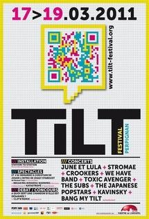 TILT Festival - Elmediator Perpignan, du 17 au 19 mars 2011