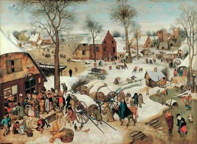 Pieter Brueghel, le Jeune, Le Recensement de Bethléem © Sammlungen des Fürsten von und zu Liechtenstein, Vaduz–Wien