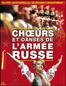 Choeurs et Danses de l'Armée Russe à la Palestre, Le Cannet (83), le 20 Mars 2011