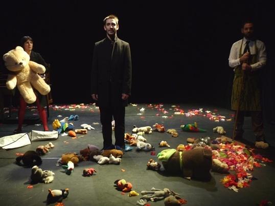 théâtre Le Jardin de Reconnaissance de Valère Novarina, Théâtre des Argonautes, Marseille, du 3 au 6 février 2011