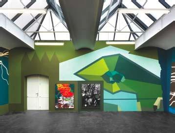 Franz Ackermann, Vue de l'installation No Roof but the Sky, 2010 © Jens Ziehe, Berlin