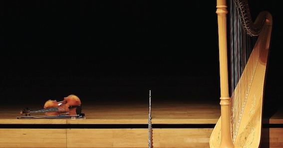 Trio Iris · Flûte, alto & harpe © DR