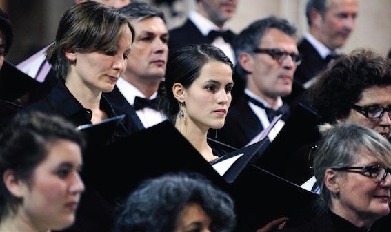 Choeur d'Oratorio de Lyon © J-P. Fortin