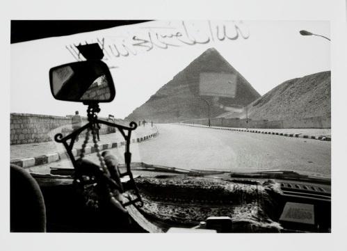 Denis Roche, Pyramide de Chéops, 28 février 1985