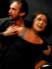 La Compagnie Sevilla joue pour les sans-abris au Théâtre 14, Paris, le 21 février 2011