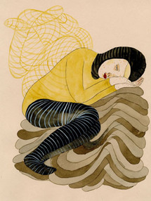 Exposition Allyson Mellberg, The Lotus eaters,  à la Galerie L.J., Paris, du 12 mars - 30 avril 2011.