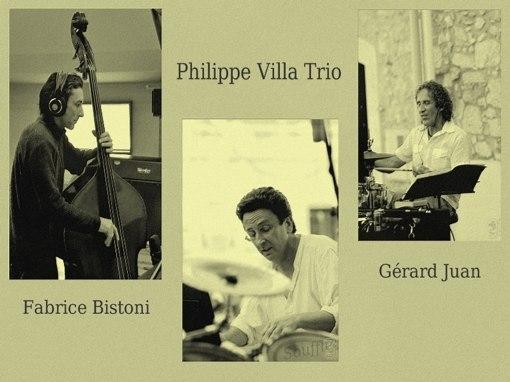 Philippe Villa Trio reprend son « souffle » au Moulin de Vallauris (06) le 12 février 2011.