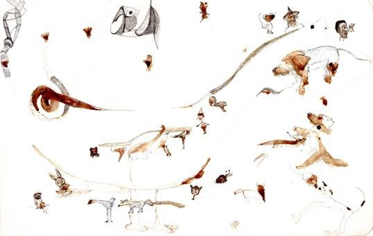 Exposition Estela Torres, Constellations familières, à la Galerie Dettinger-Mayer, Lyon, du 19 mars au 23 avril 2011.