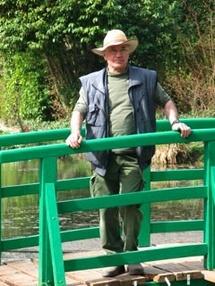 Gilbert Vahé, le jardinier de Giverny © DR