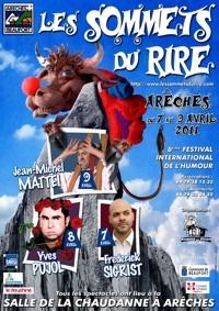8e festival les Sommets du rire à Arêches-Beaufort du 7 au 9 avril 2011