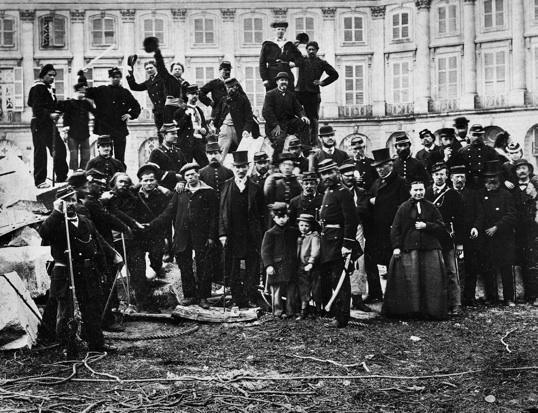 La Commune de Paris (1871). Vue de la place Vendôme © Parisienne de photographie