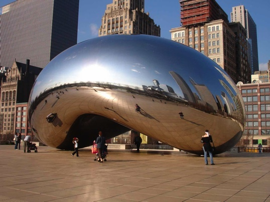 Anish Kapoor: Cloud Gate (2004-2006) © DR