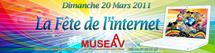 """La """" Fête de l'Internet """" le 20 mars 2011 à Nice"""