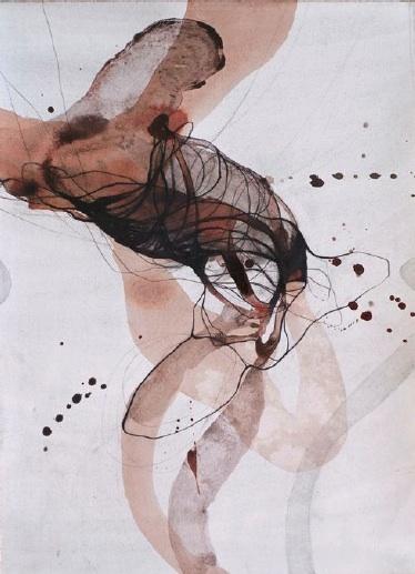 Nathalie Deshairs, Dessin 205 50 x 35 cm