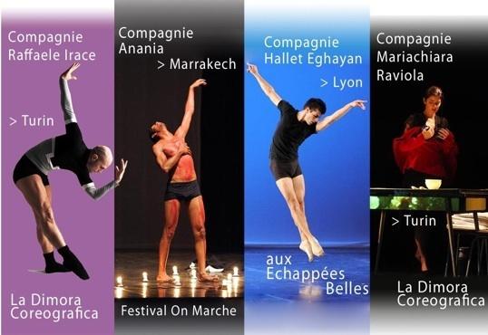 """Festival """"Intermed 4"""", Rencontres chorégraphiques de Méditerranée. Aux Echappées Belles, Lyon, les 18 et 19 mars 2011"""