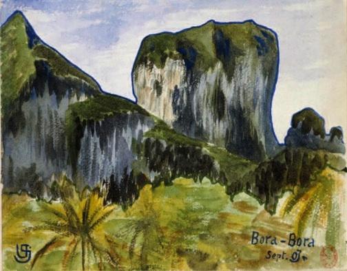 Victor Segalen, Bora-Bora © DR