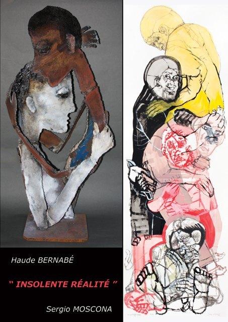 Exposition Sergio Moscona et Haude Bernabé, Insolente réalité, à la Galerie Claire Corcia, Paris, du 16 mars au 28 mai 2011