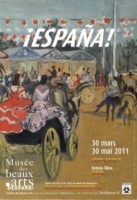 Exposition ¡ España ! Galerie des Beaux-Arts de Bordeaux, du 30 mars au 30 mai 2011
