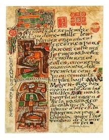 Le calligraphe Jacques Le Roux