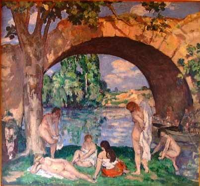 Exposition Albert André, peintre post-impressionniste, Pont-du-Gard, du 8 juin au 25 septembre