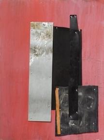 Amel Bennys. Sophie, 2010. Techniques mixtes sur bois © Sophie Tramier