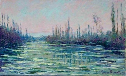 Claude Monet, «La Débâcle», 1882 Huile sur toile, 61 x 100 cm Kunstmuseum Bern, Legat Eugen Loeb, Bern