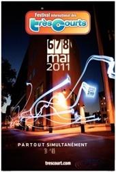 Le festival international des Très Courts court toujours !  La 13e édition aura lieu du 6 au 8 mai 2011 en France et dans le monde sous la double présidence de Marguerite Abouet et de Nicolas Altmayer