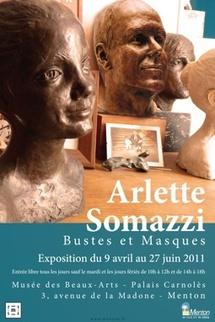 «Arlette Somazzi Bustes et Masques», musée des Beaux-arts, Menton, du 9 avril au 27 juin 2011