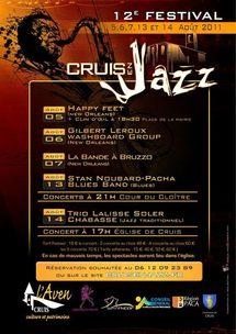 Cruis en Jazz 2011, c'est du 5 au 14 août 2011