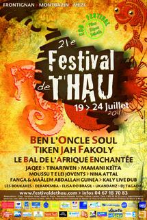 Festival de Thau - du 19 au 24 Juillet 2011 à Frontignan, Montbazin et Mèze (34)