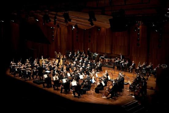 Royal Philharmonic Orchestra London pendant un concert au Septembre Musical 2010 © Yunus Durukan