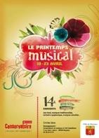 Printemps musical du 18 au 23 avril à Meyzieu (69)