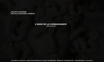 L'Ange de la connaissance. Philippe Chitarrini - Nathalie Pargoire : Duo Show du 5 mai au 14 juin 2011 à la Galerie d'exposition du collège de Gréasque (13)