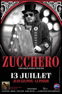 Zucchero en concert mercredi 13 juillet 2011 à la Pinède à Juan les Pins