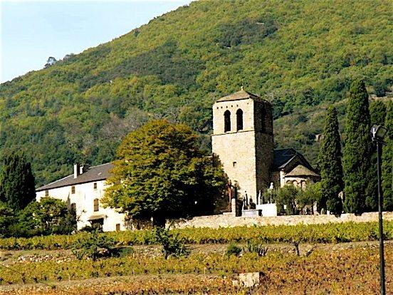 Prieuré Saint-Julien, lieu de la plupart des concerts © DR