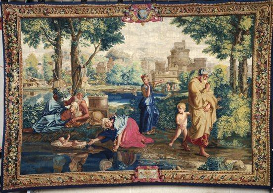 Poussin et Moïse. Du dessin à la tapisserie, du 30 juin au 26 septembre 2011 à Galerie des beaux-arts de Bordeaux