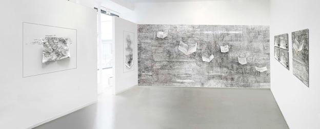 Paris, galerie Felli, exposition Bertrand Flachot, «Premier(s) Chant(s)», du 26/1 au 2/3/19