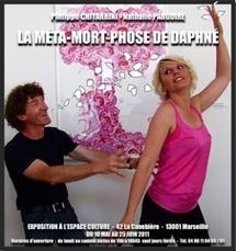 La Méta-Mort-Phose de Daphné, exposition de Philippe Chitarrini - Nathalie Pargoire , Galerie de l'Espace Culture, Marseille