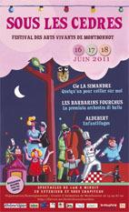 Festival des arts vivants de Montbonnot les 16, 17 et 18 juin 2011