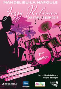 3ème Festival Jazzy Robinson à Mandelieu-La Napoule du 17 au 19 juin 2011