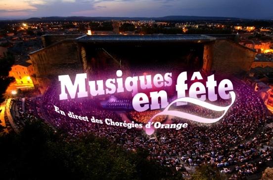 Musiques en fête en direct des Chorégies d'Orange le 20 juin à 20h35 sur France 3 et France Musique
