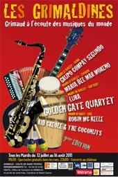 Les Grimaldines, festival des musiques du monde. Grimaud du 12 juillet au 16 août 2011